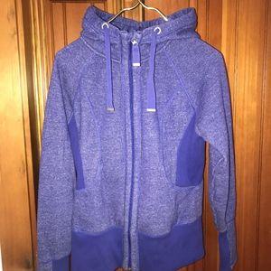 Z by Zella Zip Up Hooded Sweatshirt Purple